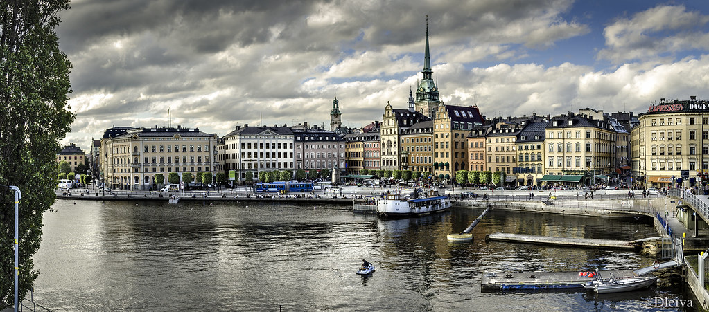 Stockholm Skyline Sweden  Set of Sweden click here  Flickr