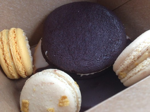 Macarons from Fluff Bake Bar, Houston