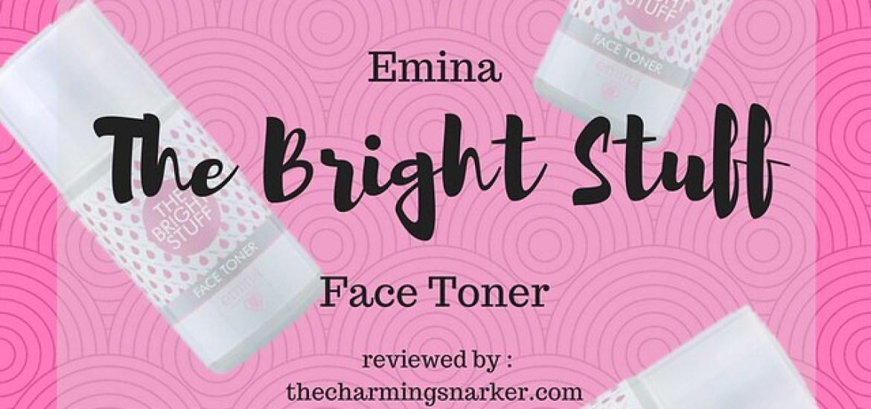 Emina the bright stuff face toner