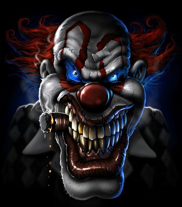 Crazy Clown Pin 199354720979594298