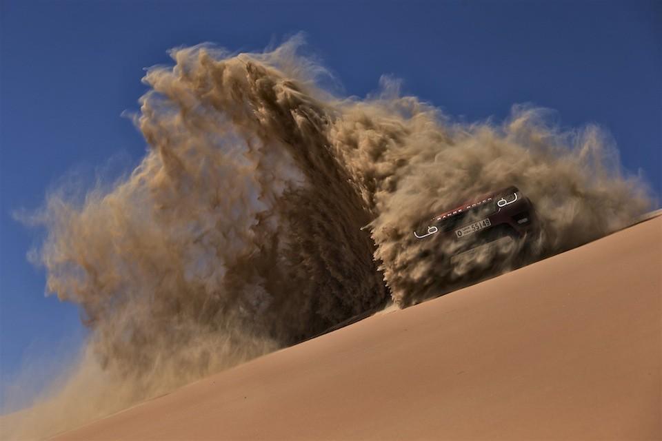 New Range Rover Sport  The Empty Quarter Driven Challenge