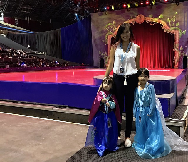 Magical moment at disney on ice the chill mom thanks for feld entertainment we were treated to the magical moment experience at disney on ice which was truly wondrous for lauren and georgia m4hsunfo