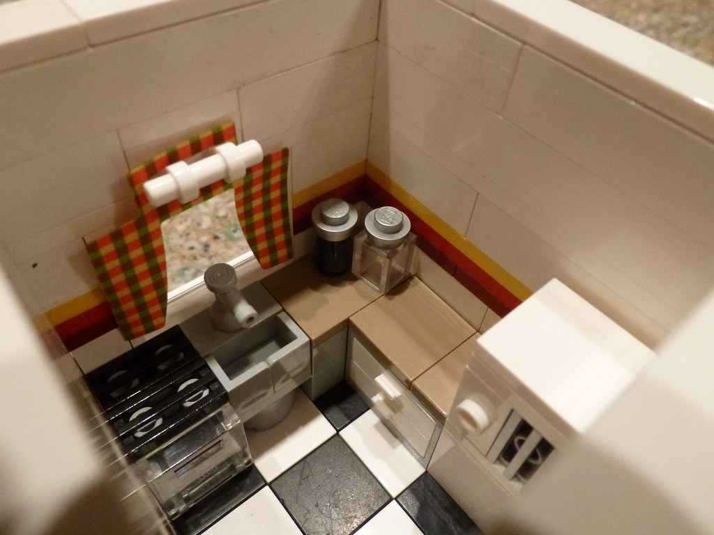 Lego Peter Parkers Apartment Kitchen 1  Here is the