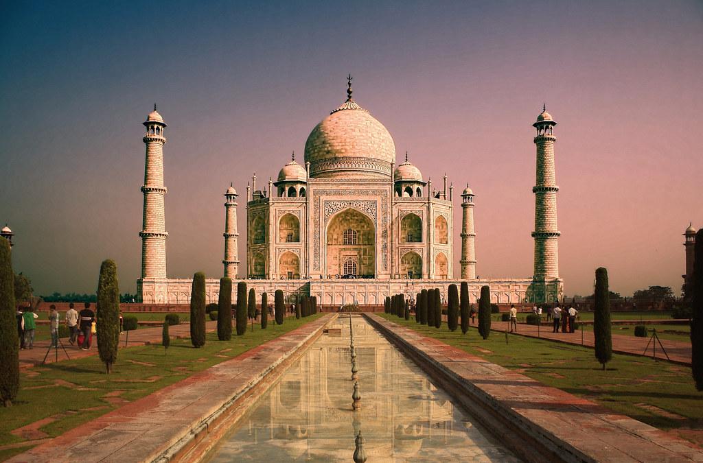 Agra IND  Taj Mahal 10  The Taj Mahl crown of palaces