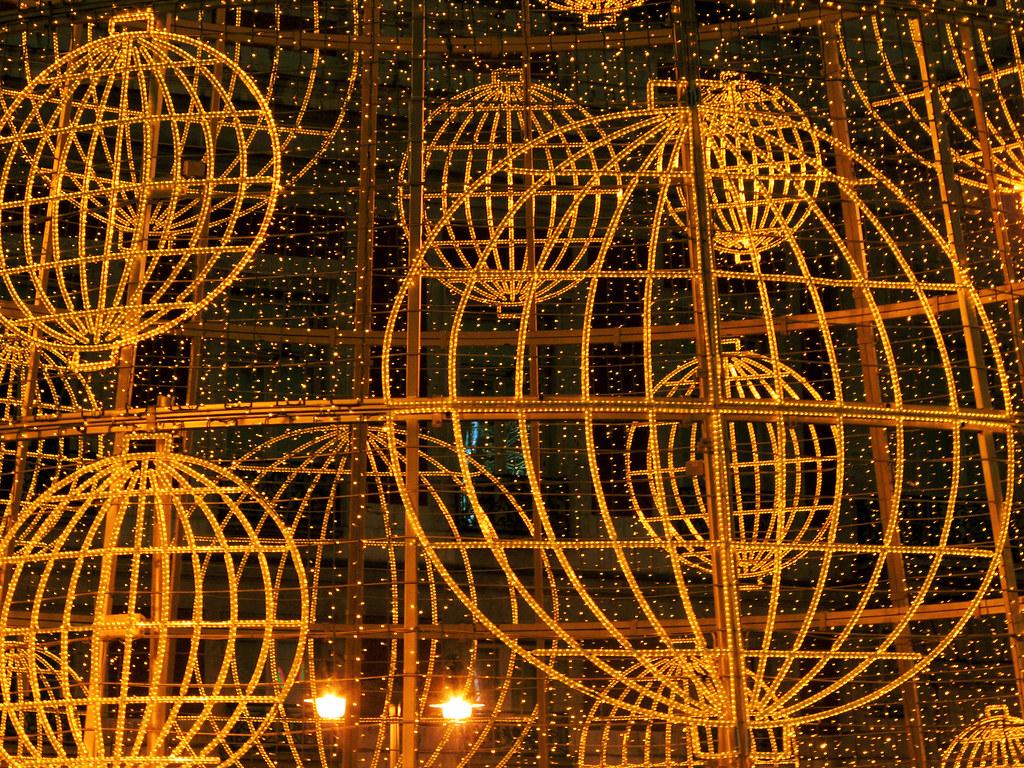 Detalles de Navidad  Los bombos de la lotera hacen de bola  Flickr