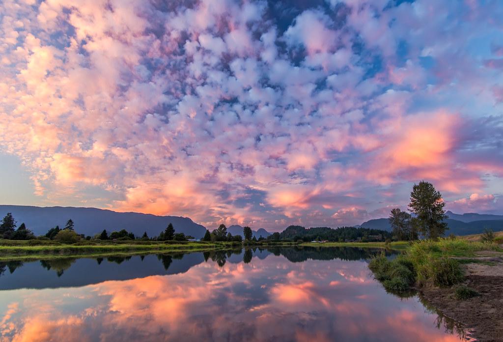 Desktop Wallpaper Pinterest Fall Pink Sky Reflection Follow Me On Twitter Like On