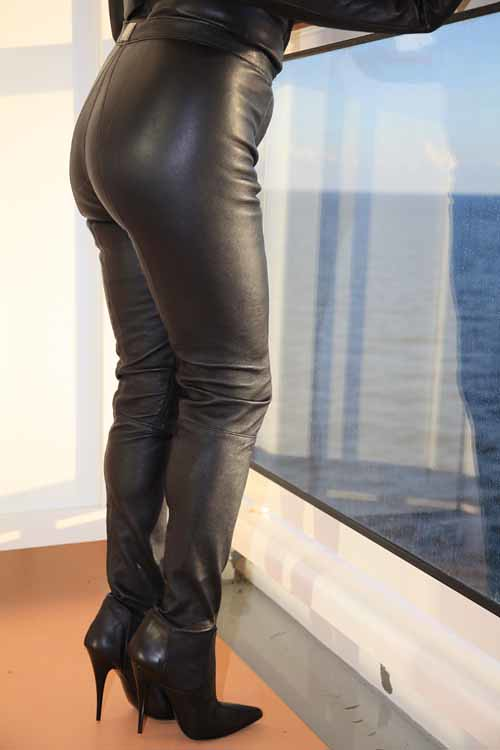 MICELI BootPants  StretchLeatherBootPants  Made to