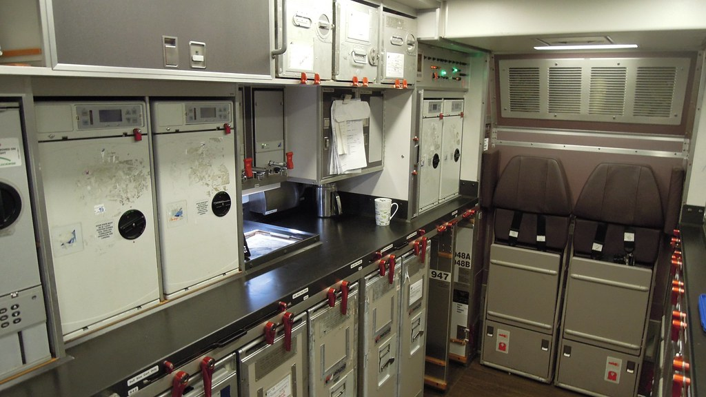 Malaysia Airlines Airbus A330300 Aft galley  The Airbus