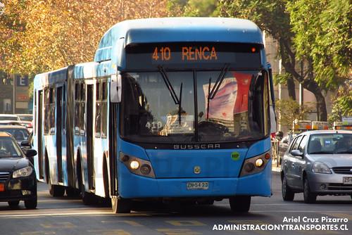 Transantiago - Inversiones Alsacia - Busscar Urbanuss / Volvo (ZN5423)