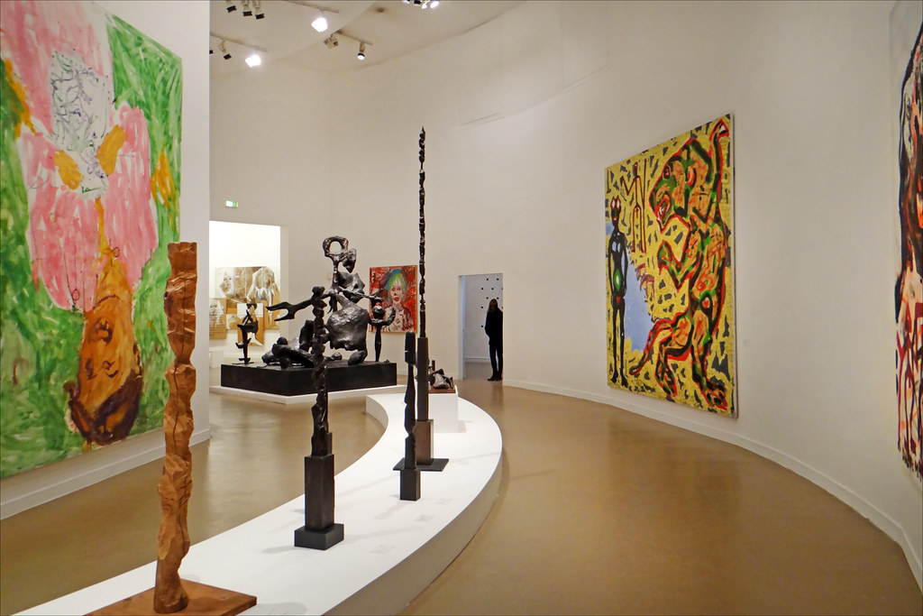 La salle sur la scne artistique allemande Muse dart mo