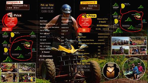 Brochure Mon Maekanin Adventure Chiang Mai Thailand 2