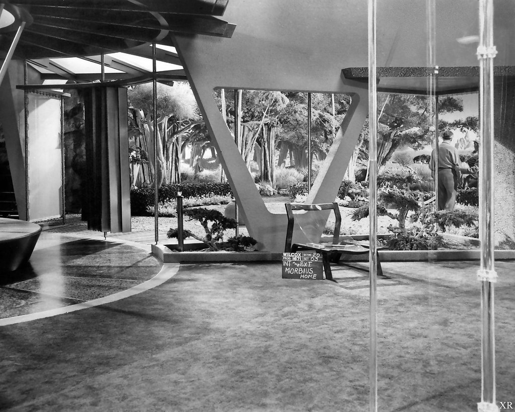 1956  house of Morbius  Forbidden Planet  James