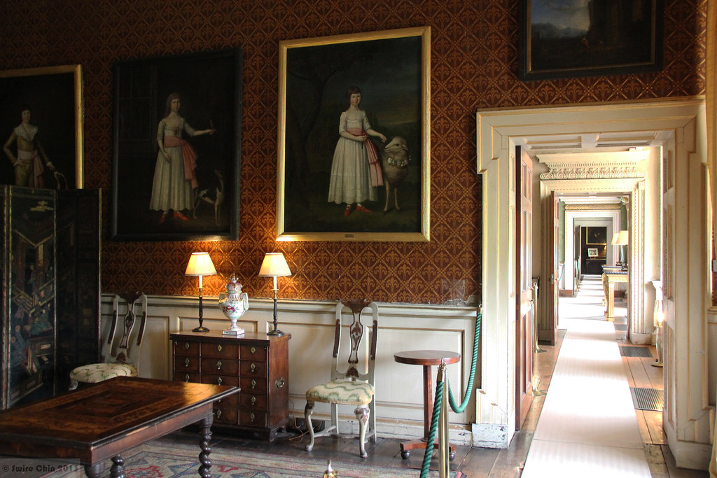 Georgian country houses interior design  When Castletown