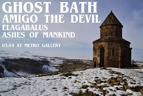 Ghost Bath at Metro Gallery