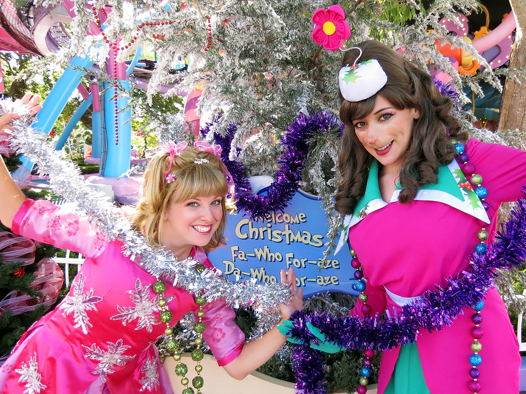 Cindy Lou and Betty Lou Who  Seuss Landing Universals