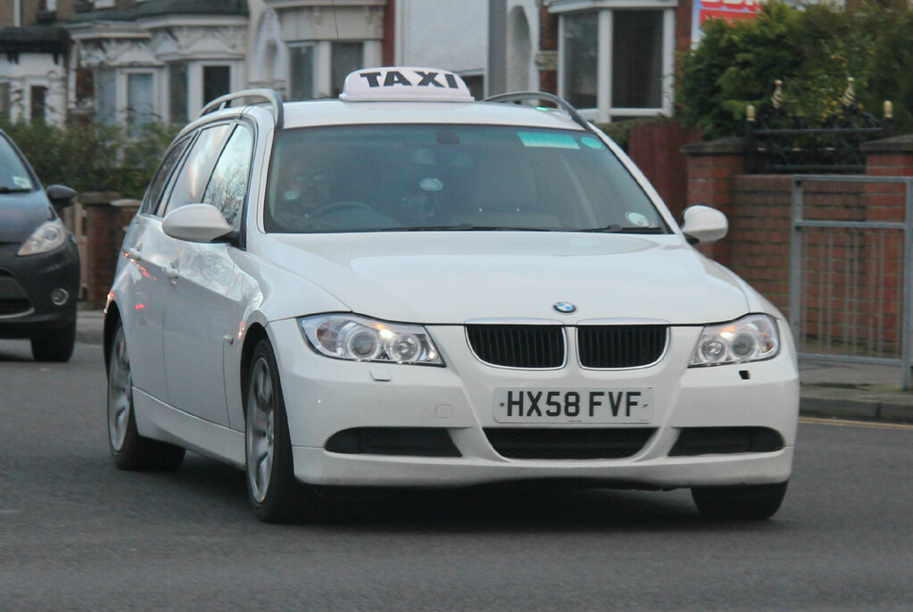 Ex Hampshire Police BMW 320d Taxi  An Ex Hampshire