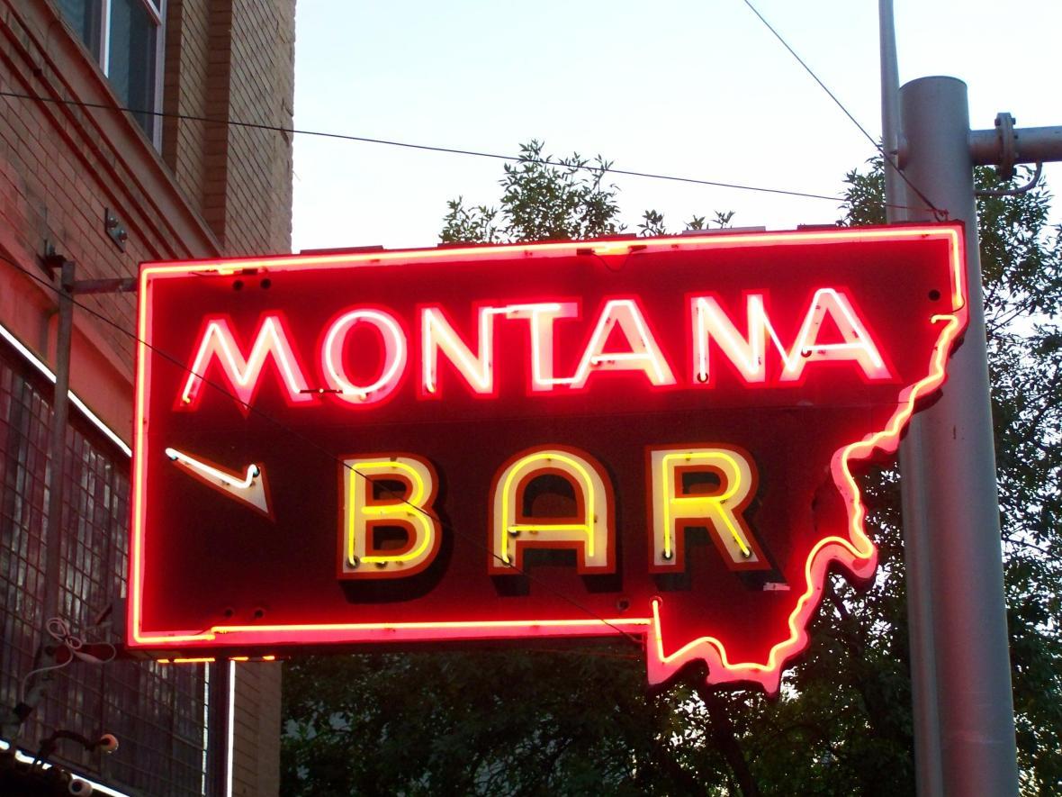 Montana Bar - 612 Main Street, Miles City, Montana U.S.A. - September 19, 2012