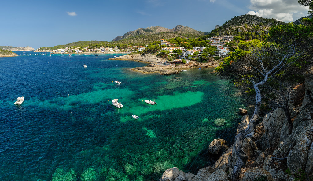 Cala Conills San Telmo Mallorca  Cala Conills is one of