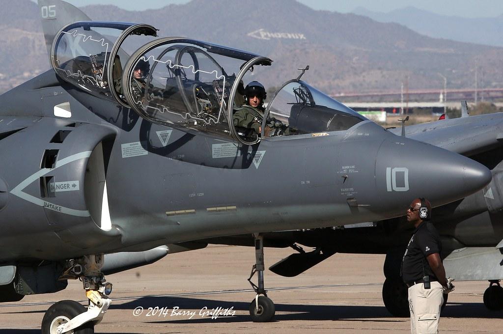 McDonnell Douglas TAV8B Harrier II Two Seater BuNo16297