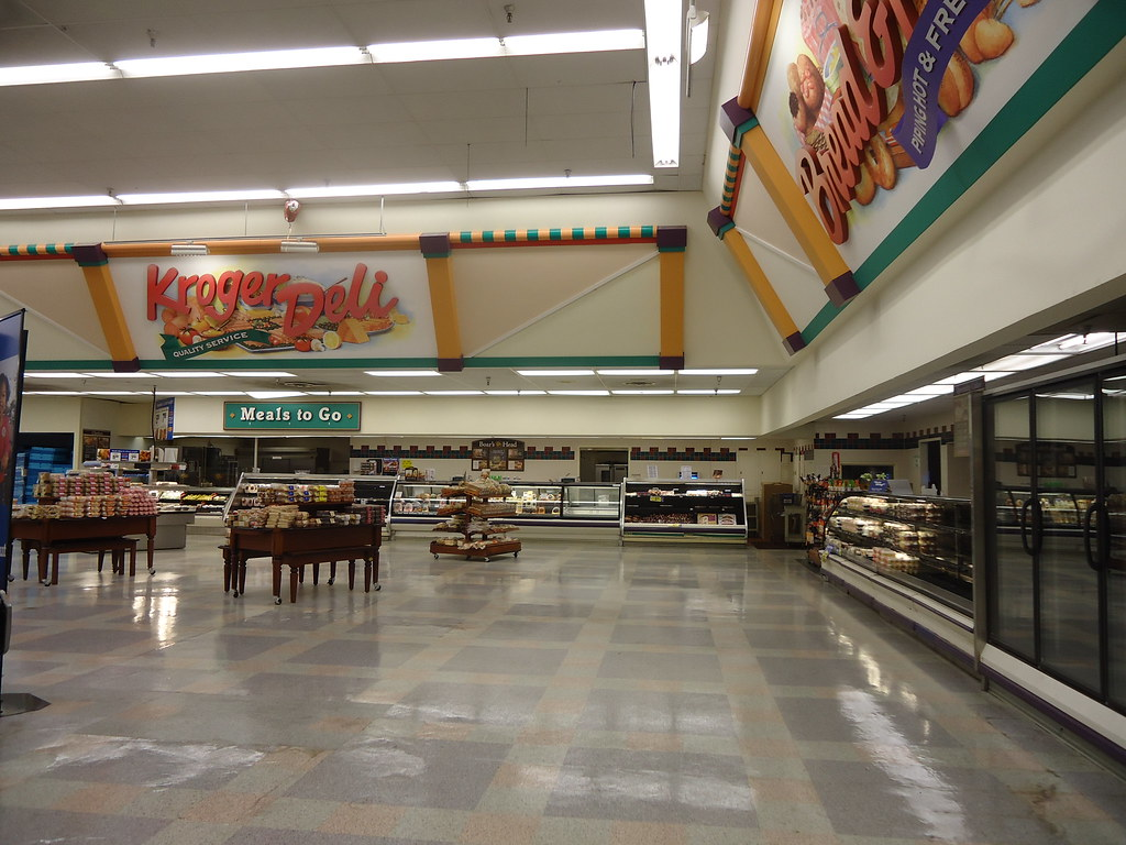 Mall Blvd Kroger delibakery section  A couple of