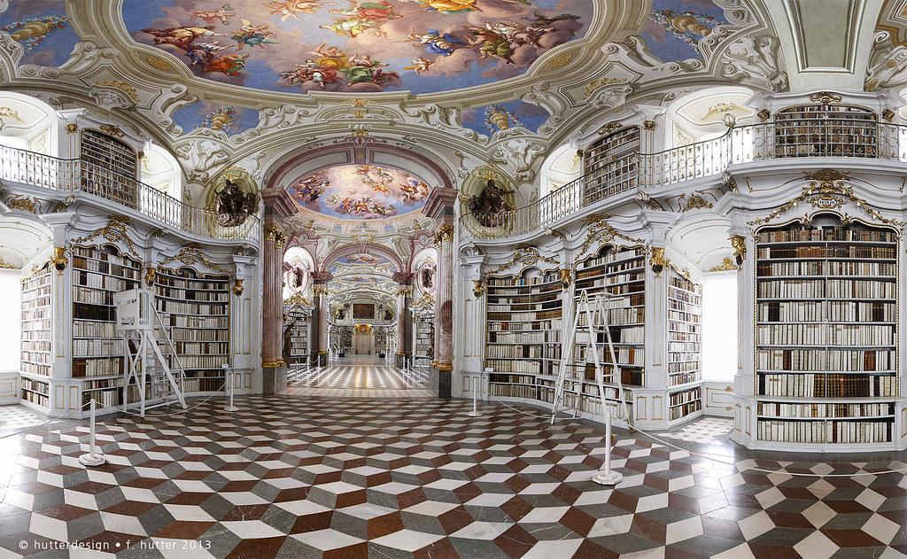 Beast 3d Wallpaper Admont Abbey Library Admont Abbey Stift Admont