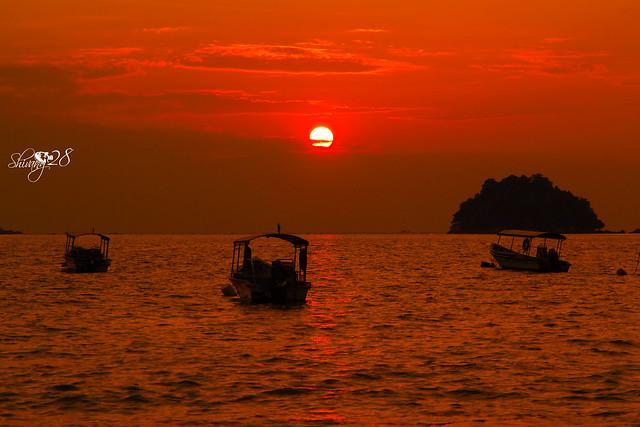 Sunset at Pangkor