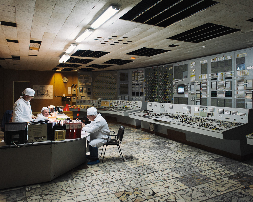 Chernobyl NPP  Control Room No 2  After the Chernobyl