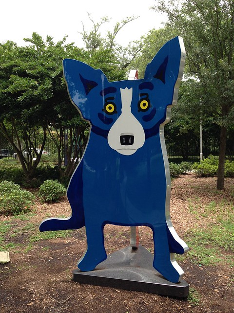 George Rodrigue, We Stand Together, 2005