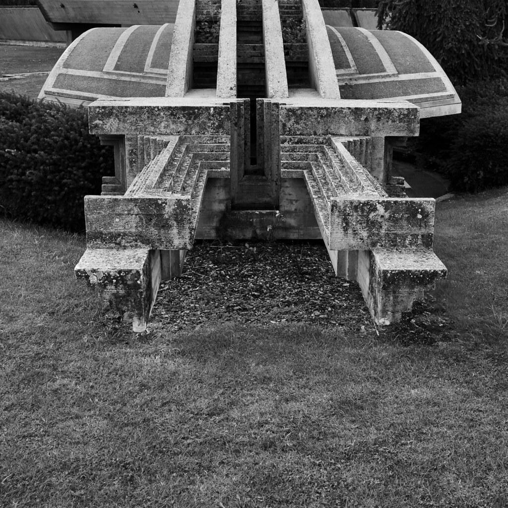 future ruins carlo scarpa architect brion tomb san vit