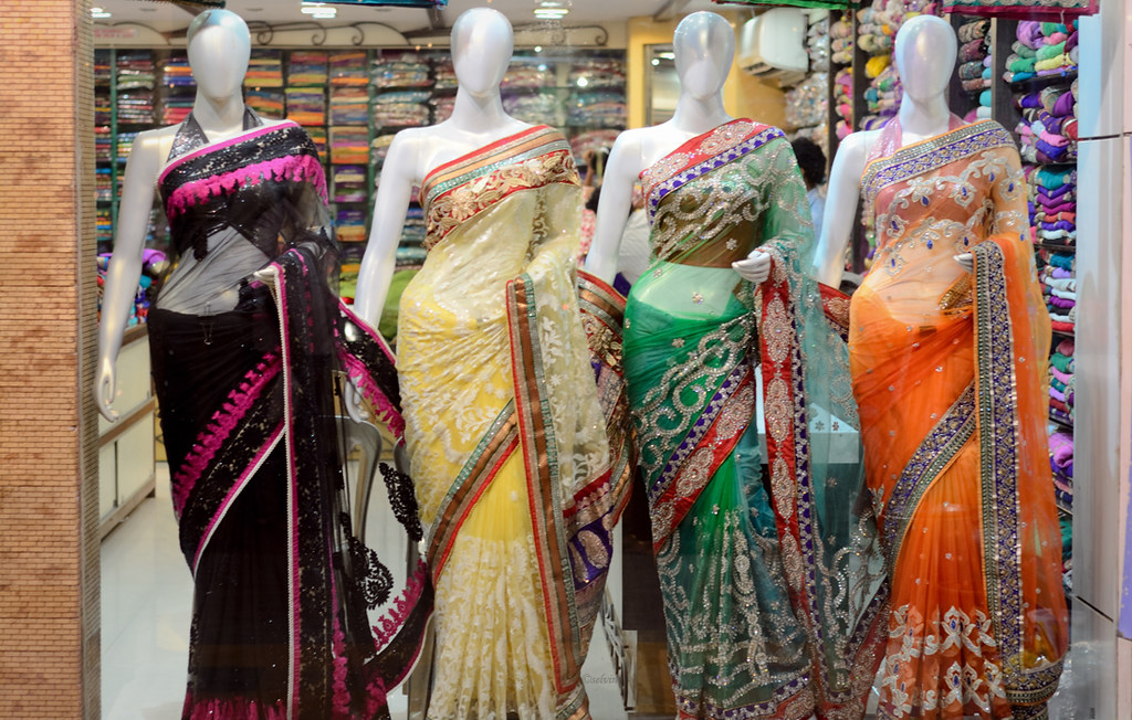 Mannequins  Indian fashion  Sarees  selvin kurian  Flickr
