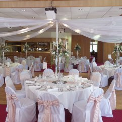 Chair Covers Wedding Yorkshire Reclining Rocking With Ottoman Bagden Hall Reception Orchard Suite Bramley And Drak