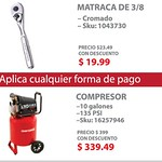 Compresor craftsman discounts onday at SEARS- 08sep14