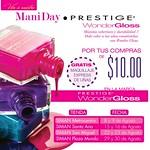 PROMOCIONES Mani DAY prestige wonder gloss SIMAN