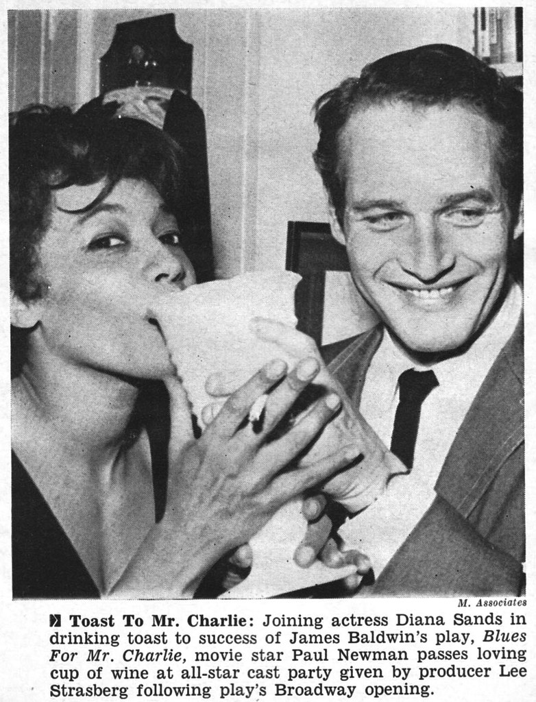 Diana Sands and Paul Newman  Jet Magazine May 14 1964