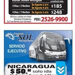 viaja a centromerica en BUS guatemala nicaragua - 22jul14