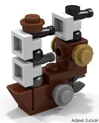 LEGO Minifigure Scale LEGO Set - MetalBeard's Sea Cow (708 ...