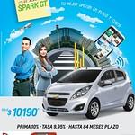 Quieres un auto economico ahorro y bonito SPARK GT - 13ago14