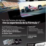 Paquete para 2 personas GRAN PREMIO Formula 1 AustinTexas
