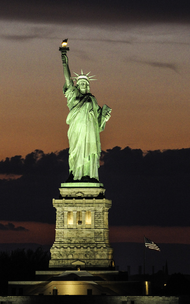 Statue of Liberty  Not like the brazen giant of Greek