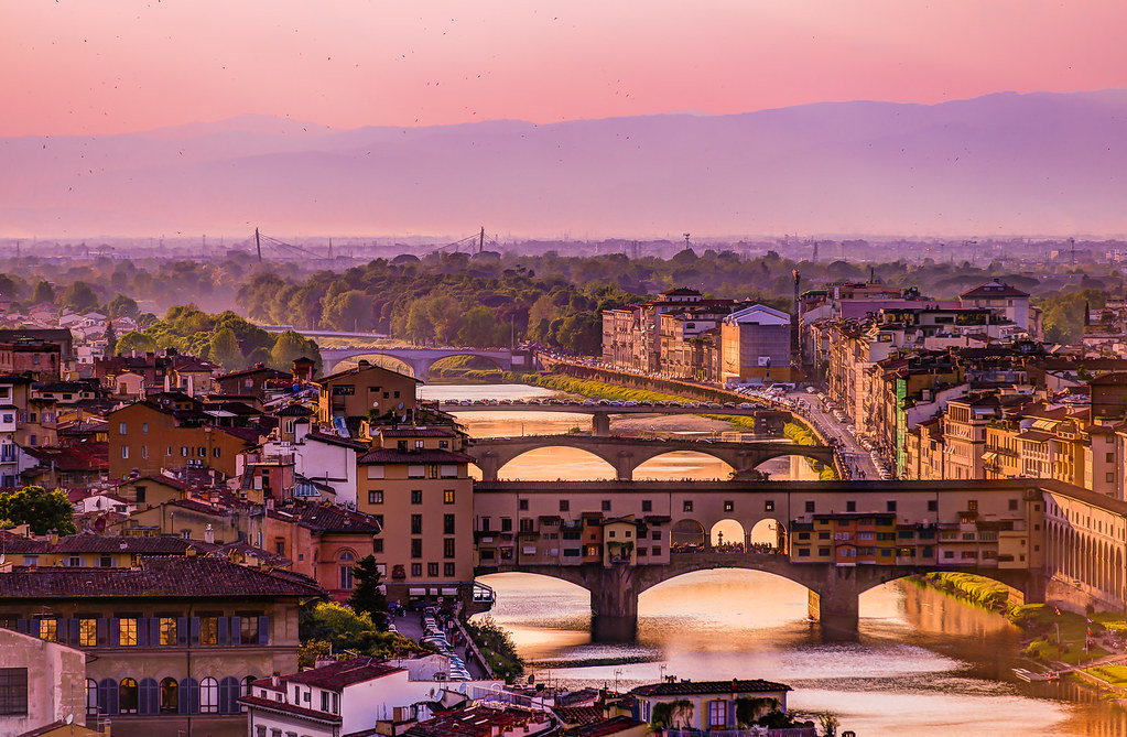 Florence from piazzale Michelangelo  NIKON D800 with