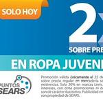 Promociones 2x1 SEARS ropa juvenil para damas - 22ago14