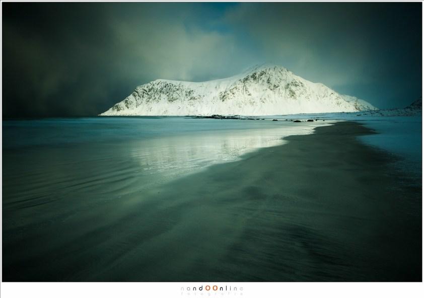 Het strand van Skagsanden, Lofoten 2017 - part 1
