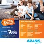 Promociones en cuotas sin intereses en almacenes sears - 09ago14