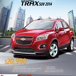 CHEVROLET Trax suv 2014 savings - 14ago14