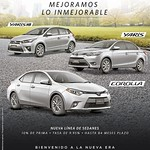 sedans new line TOYOTA corolla yaris hash back - 11sep14