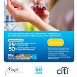 Beneficios tarjetas de credito CITI BANK perfumes MAGIE - 25jul14