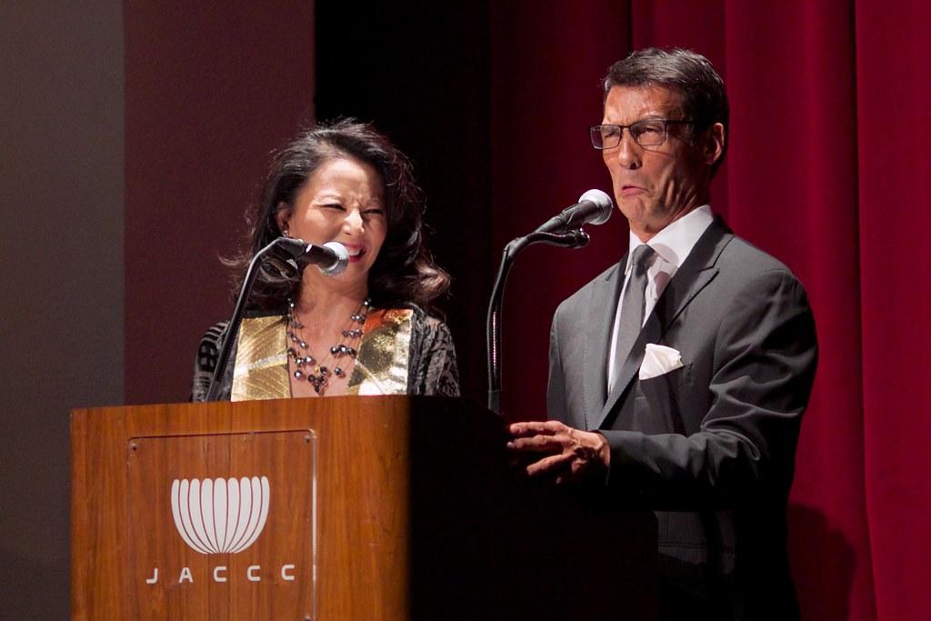Tamlyn Tomita and David Ono - 2014 Nisei Week Coronation B ...
