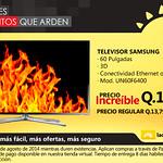 oferta televisor SAMSUING La curacao Guatemala