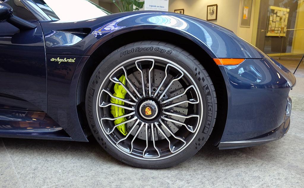 Porsche 918 SpyderMichelin Pilot Sport Cup 2 tire  Flickr