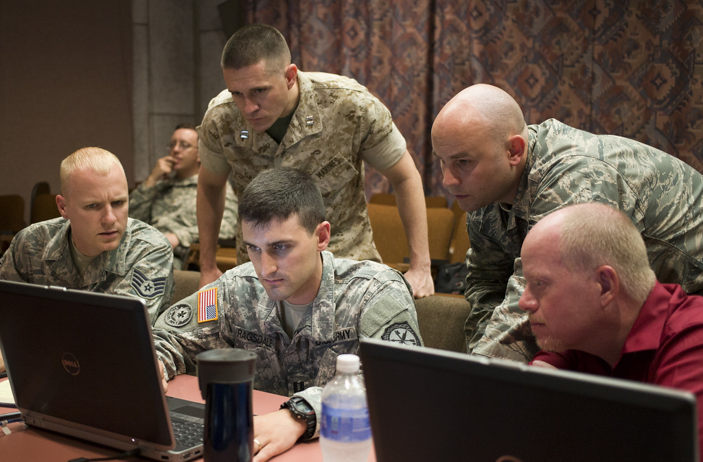 Joint Operations train against cyber war  FORT GORDON NELSO  Flickr